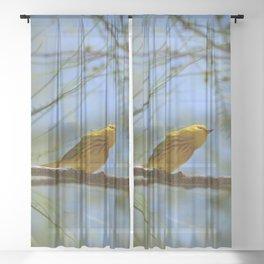 Warbler Sheer Curtain