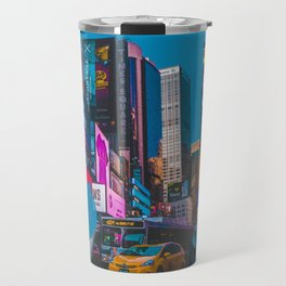 City streets girl Travel Mug