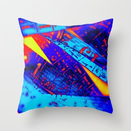Crayola Cyphers Throw Pillow