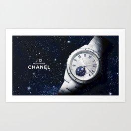 Galaxy Watch Art Print