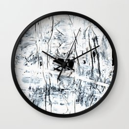 Floppy 13 (the battle of two different media's) Wall Clock