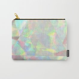 Milky White Opal Carry-All Pouch