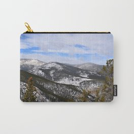 Mountain view from Squaw Pass Road Carry-All Pouch