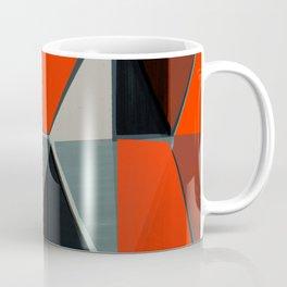 Red and Black Diamonds Coffee Mug