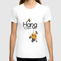 pixar T-shirts featuring Pixar/Disney Wall-e Hang in There by Teacuppiranha