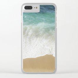 Sea Dreams Clear iPhone Case