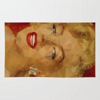 monroe Area & Throw Rugs featuring Monroe by Ancello