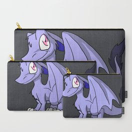 Moonlight SD Furry Dragon - Fantasy Illustration Cartoon Kawaii Cute Art Carry-All Pouch