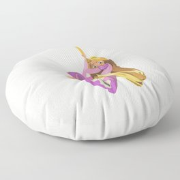 Rapunzel: Almost free Floor Pillow