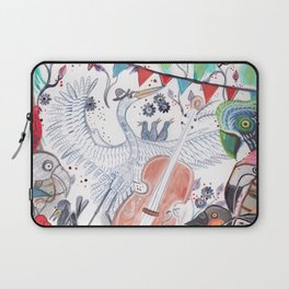 Wild Night at the Ornithology Club Laptop Sleeve