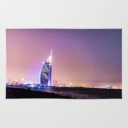 Sun rises, Burj Al Arab Wakes You Up Rug