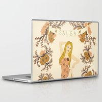 dancer Laptop & iPad Skins featuring DANCER by Nora