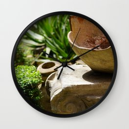 The broken jar, Rom/Italy in MMXIX Wall Clock