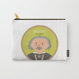 Brainy like Albert Einstein Carry-All Pouch