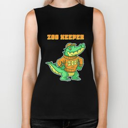Zoo, Animal, Pet Biker Tank