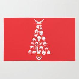 Christmas Tree Silhouette Rug