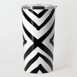 Angled Stripes Travel Mug
