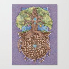 Gaia Life Tree Yggdrasil Canvas Print