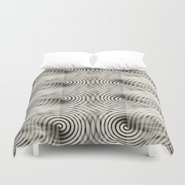 Carbon Thought Duvet Cover