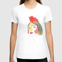 portret of the artist as a young chicken T-shirt