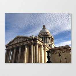 Pantheon (Paris) Canvas Print