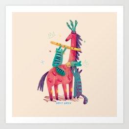Forest Queen Art Print