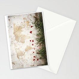 amapolas mundi Stationery Cards