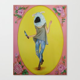 Oveja, Hard Candy series Canvas Print