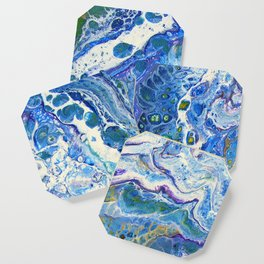 The Shallows Abstract Coaster