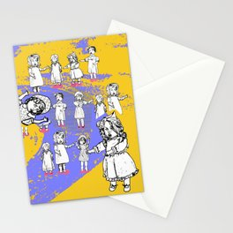 Puppets Invasion Stationery Cards