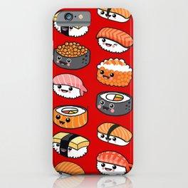 Sushi family iPhone Case