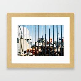 Greenwhich Framed Art Print