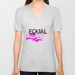 Women's Rights Unisex V-Neck