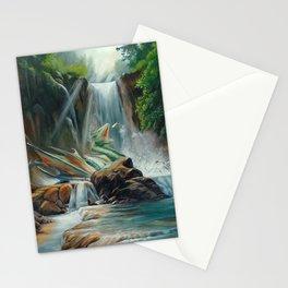 Fishing fantasy dragon Stationery Cards