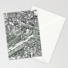 The Town of Train 1 Stationery Cards