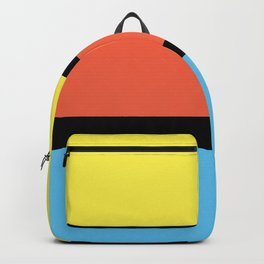 Diversions #1 in Yellow, Orange & Powder Blue Backpack