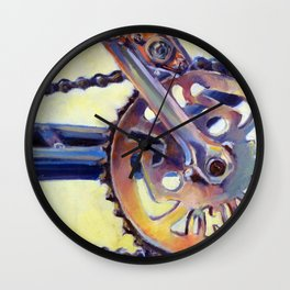 Bicycle Crank Wall Clock
