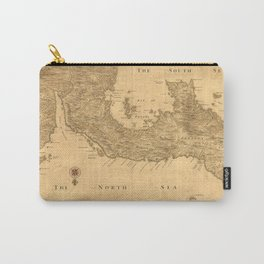 Vintage Map of Panama (1800) Carry-All Pouch