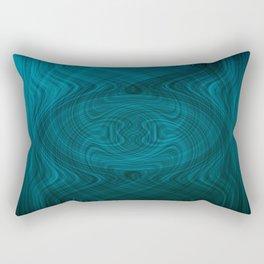 Disturbance in water Rectangular Pillow