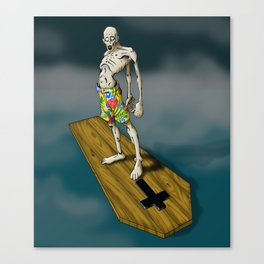 The Dead Kahuna (Surf Zombie) Canvas Print