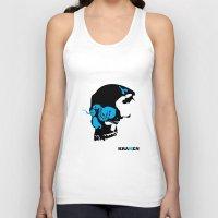 kraken Tank Tops featuring Kraken by Madera Arts