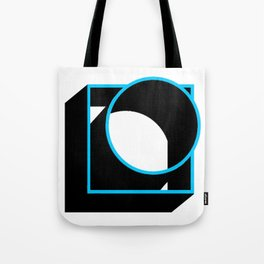 Tube in a Cube White Tote Bag