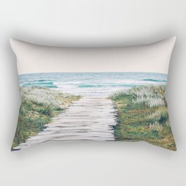 The Ocean is Calling & I Must Go #society6 #buyart Rectangular Pillow