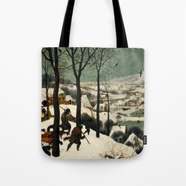 The Hunters in the Snow - Pieter Bruegel the Elder Tote Bag