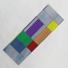 Mid-Century Modern Art - Rainbow Pride 1.0 Yoga Mat