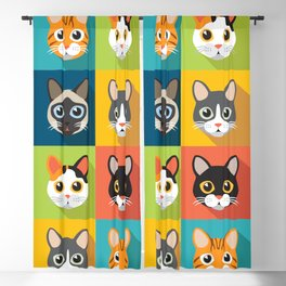 Facecats Blackout Curtain