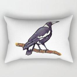 Australian Magpie Rectangular Pillow
