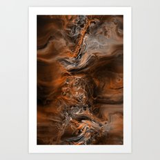 Scirocco Wind Art Print