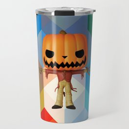 The Lord Disco Halloween Pumpkin | Scary | Fun | Kids Room Project Travel Mug