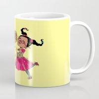 fancy Mugs featuring Fancy by sheena hisiro